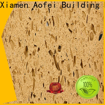 AOFEI Best yellow countertops supply for garden