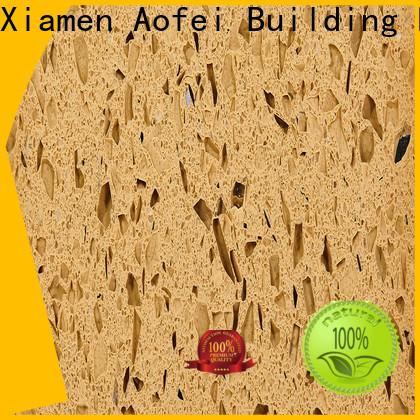 AOFEI Best yellow countertops supply for garden