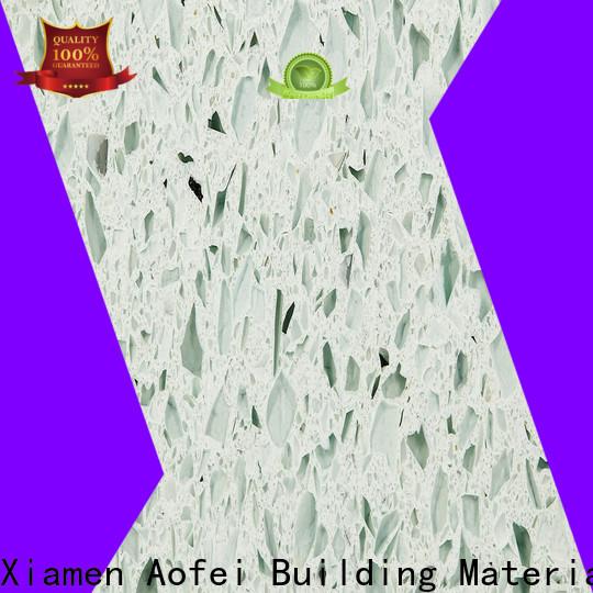 AOFEI High-quality grey quartz stone company for outdoor kitchen
