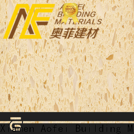 AOFEI cream laminate countertops suppliers for bathroom