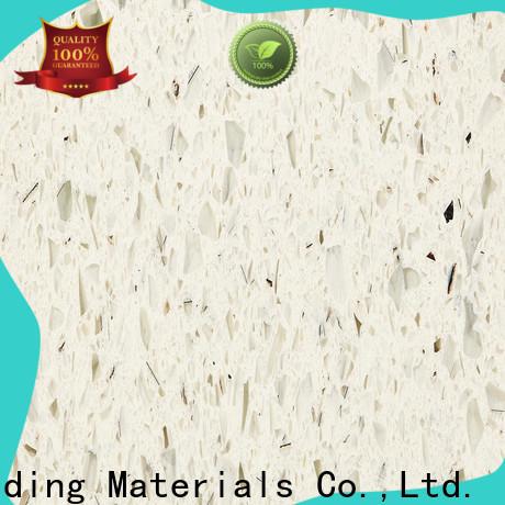 AOFEI pure white quartz counter top supply for garden