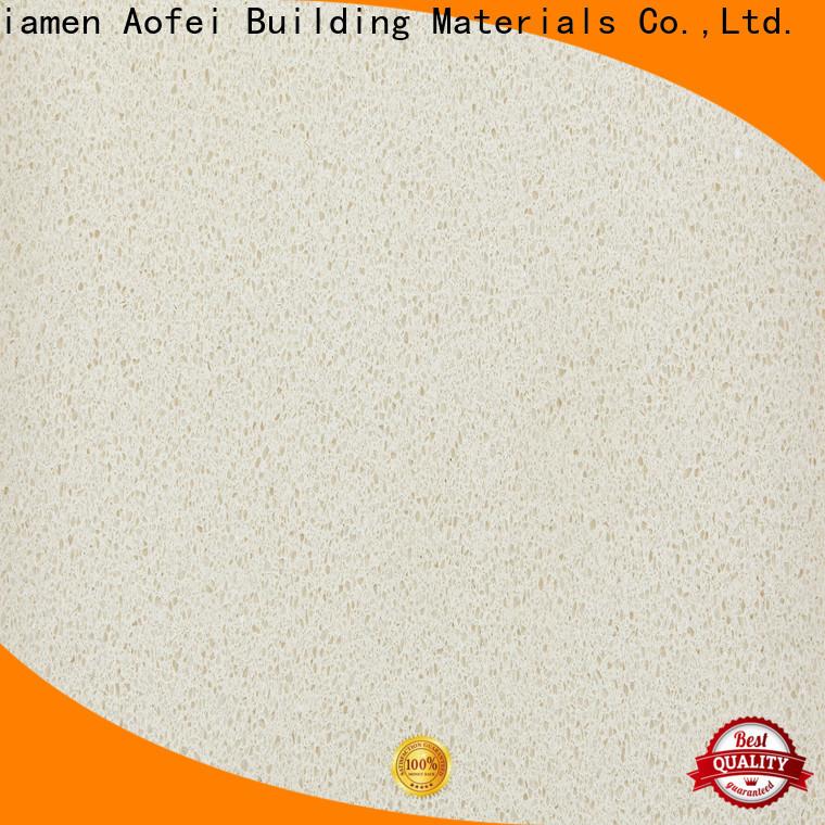 AOFEI cream color quartz manufacturers for cabinets