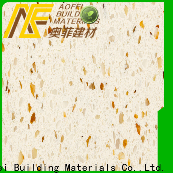 AOFEI Custom best quartz countertops colors company for kitchen