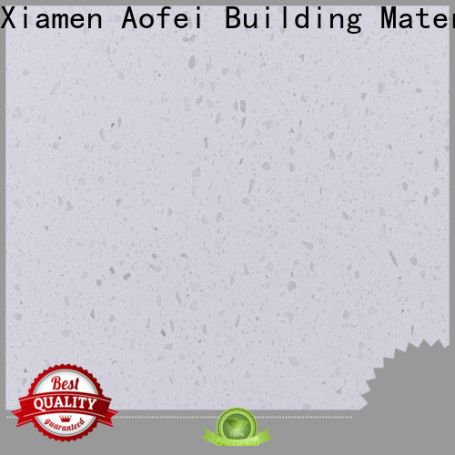 AOFEI quartz white grey quartz for business for bathroom