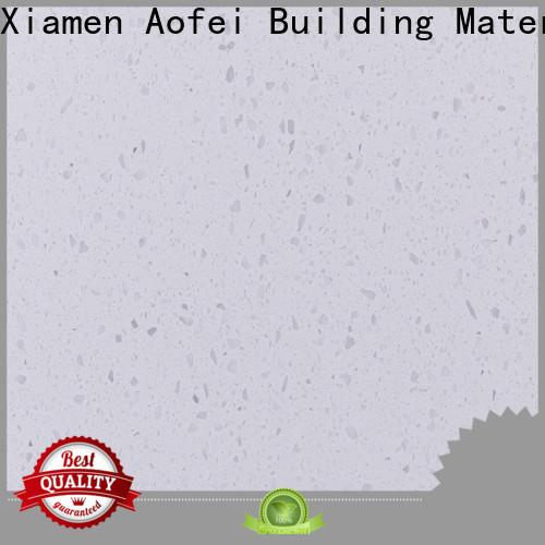AOFEI quartz white grey quartz for business for bathroom