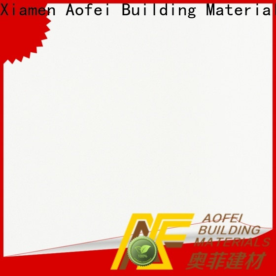 AOFEI xpb1007 snow white countertop manufacturers for kitchen