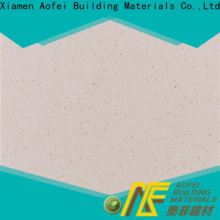 AOFEI High-quality cream color quartz company for bathroom