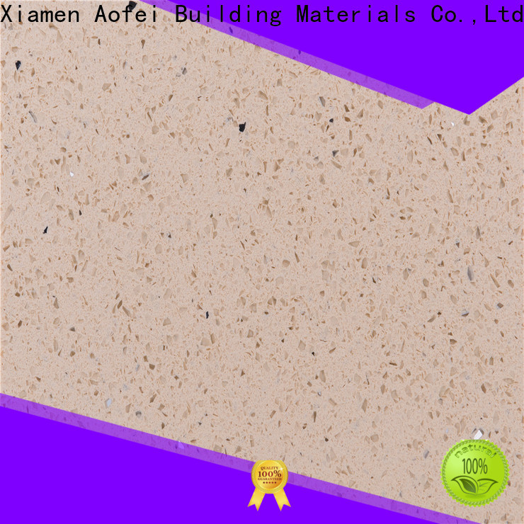 AOFEI Top urban cream quartz factory for cabinets