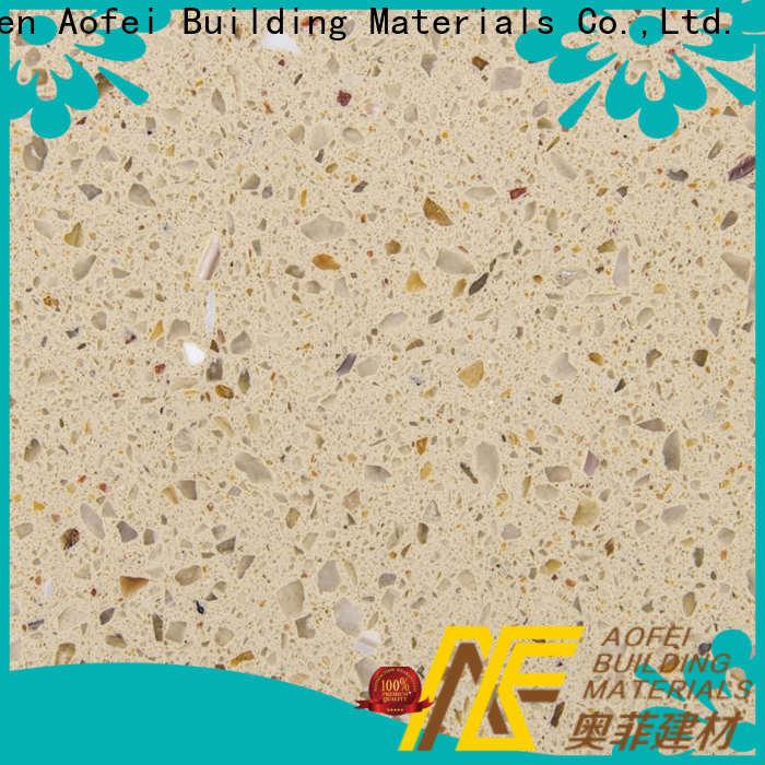AOFEI Top quartz countertops concrete color manufacturers for kitchen