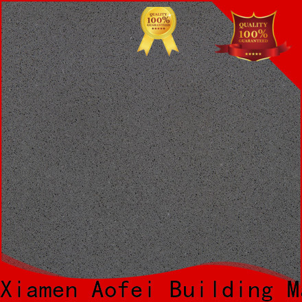 AOFEI New silestone black quartz suppliers for outdoor kitchen