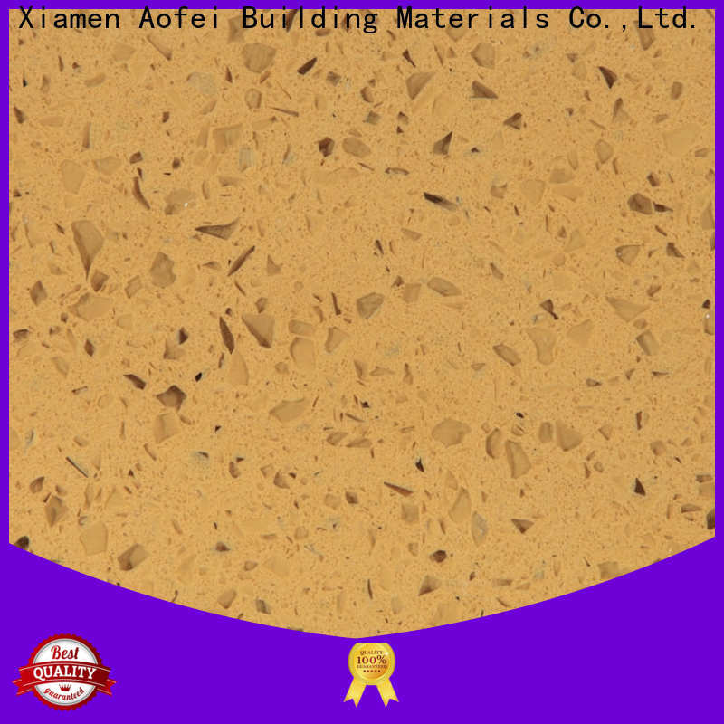 AOFEI brazilian brown quartz supply for garden