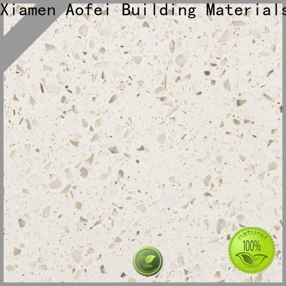 AOFEI Wholesale cloud white quartz manufacturers for garden
