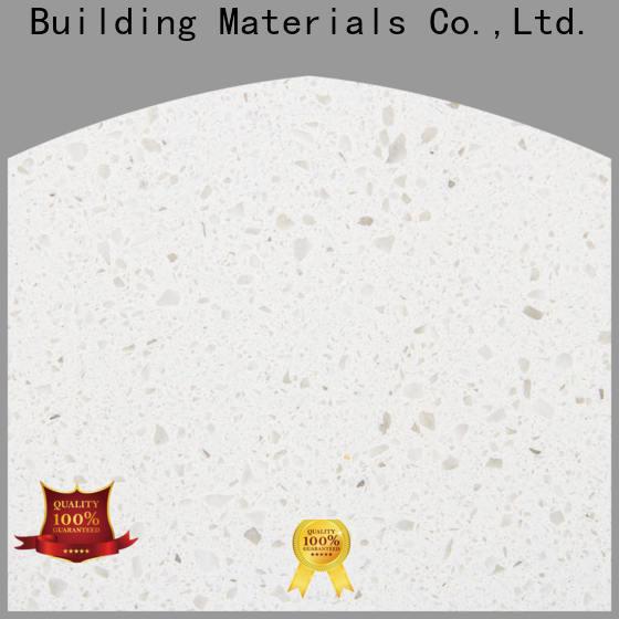 Wholesale white engineered quartz countertops tiramisu supply for garden
