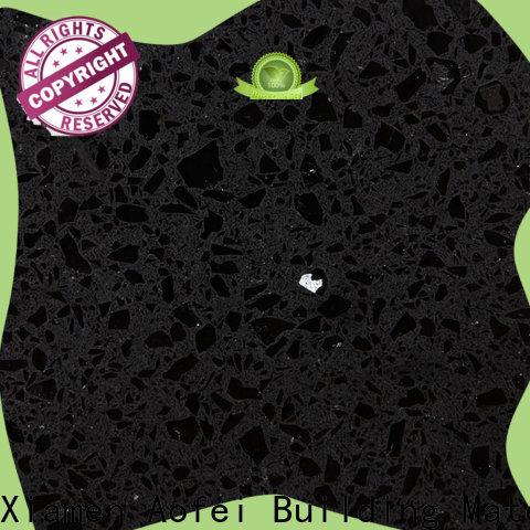 AOFEI spring morion black quartz factory for cabinets