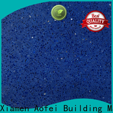 AOFEI starlight blue quartz manufacturers for table top