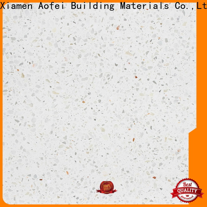 AOFEI New poured terrazzo for business for fireplace
