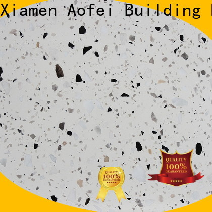 AOFEI New washed terrazzo factory for kitchen