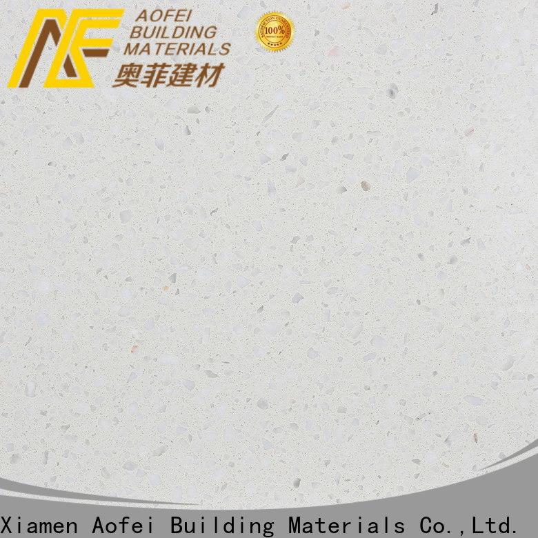 AOFEI terrazzo white terrazzo tile company for kitchen