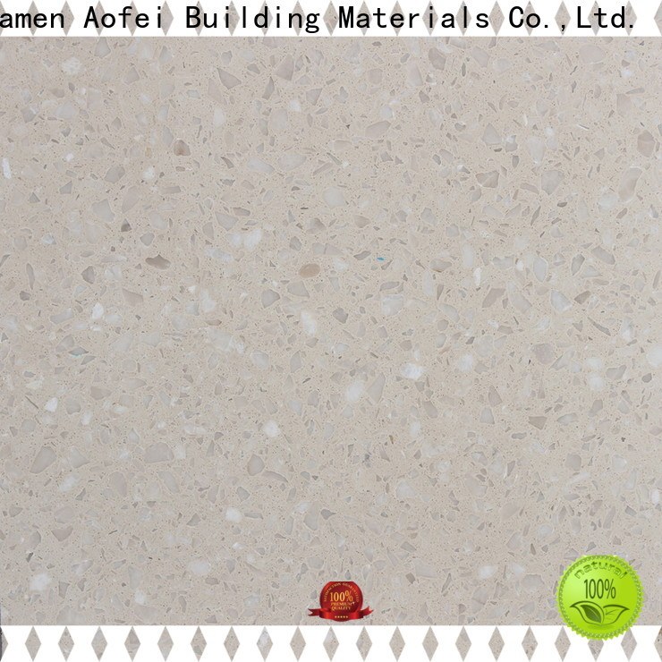 AOFEI color terrazzo concrete floor manufacturers for bathroom