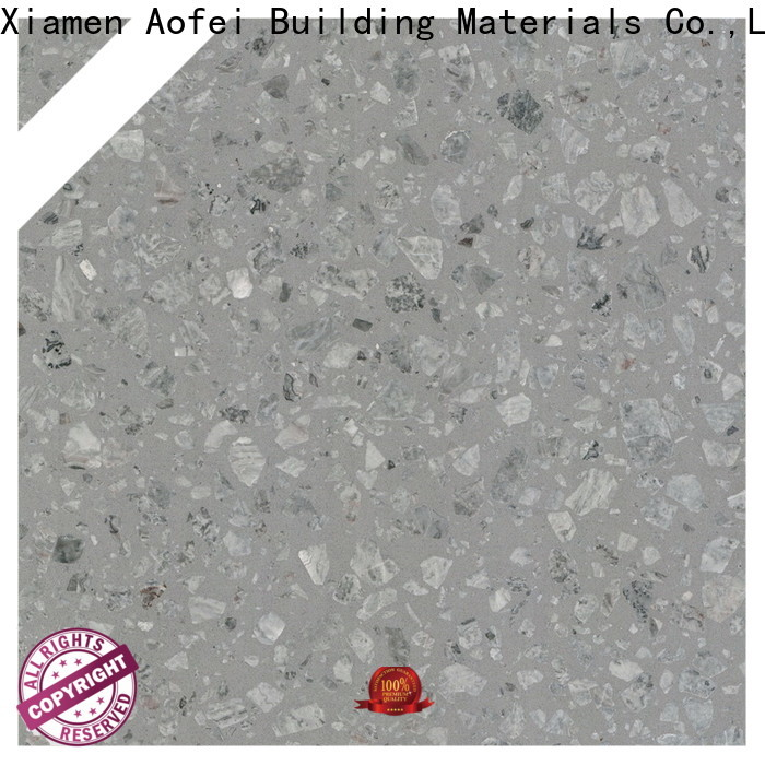 AOFEI bathroom residential terrazzo floor supply for bathroom
