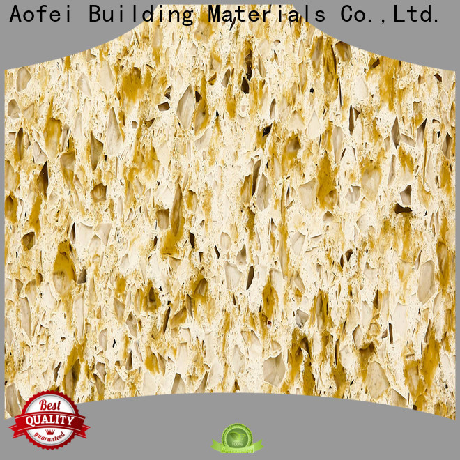 AOFEI Best quartz tile manufacturers supply for cabinets