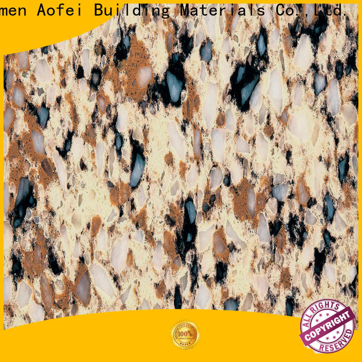 AOFEI Wholesale top quartz factory for kitchen
