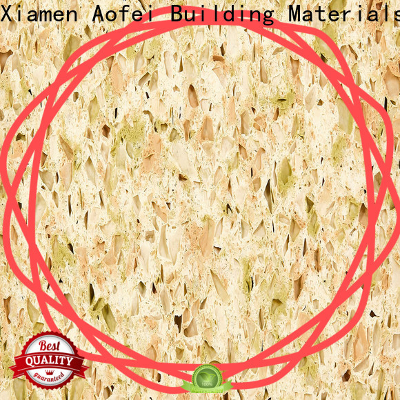 AOFEI countertops quartz manufacturing companies suppliers for outdoor kitchen