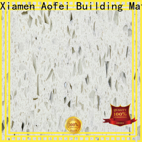 AOFEI stone white quartz colors for business for cabinets