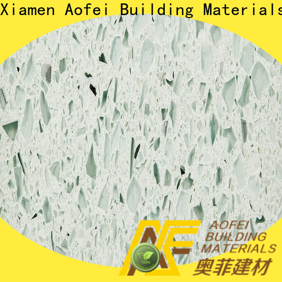 AOFEI New sparkling quartz stone company for outdoor kitchen