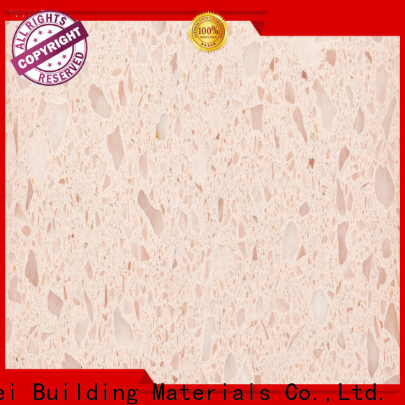 Latest pure white quartz ls1331 factory for bathroom