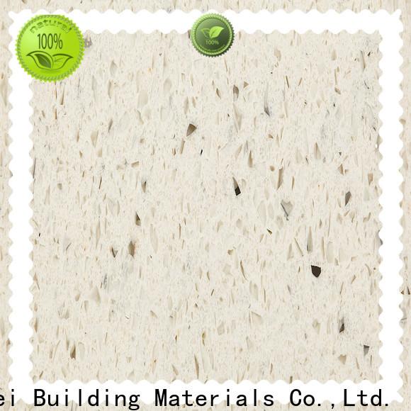 Best pure white quartz worktop ls1213 factory for kitchen