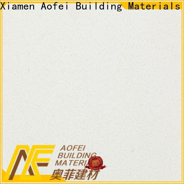 AOFEI Latest pure white countertops company for outdoor kitchen