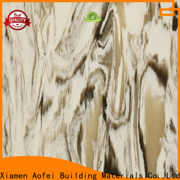 AOFEI brown identifying quartz factory for table top