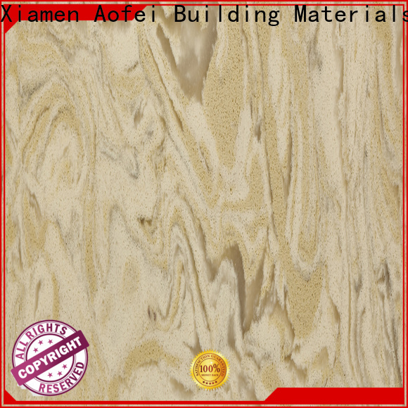 AOFEI Wholesale quartz and gold veins manufacturers for table top