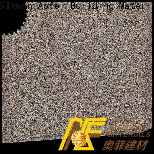 AOFEI breeze white quartz colors factory for cabinets