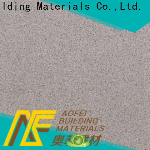 AOFEI High-quality pure white quartz countertops suppliers for outdoor kitchen