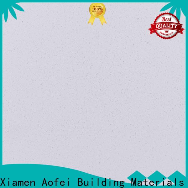 AOFEI xpa3009 white quartz colors supply for kitchen