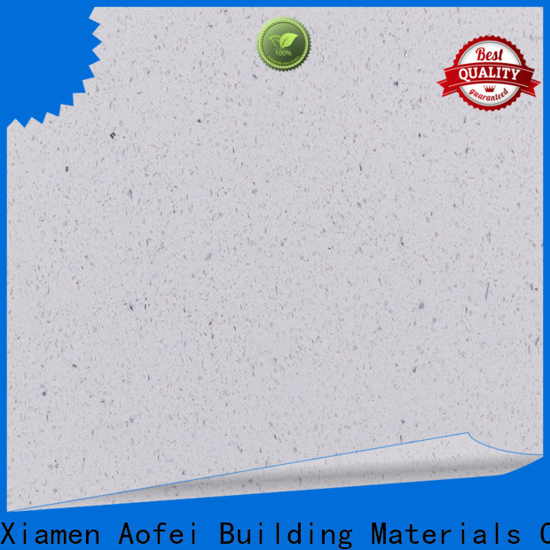 Top pure white quartzite top supply for cabinets