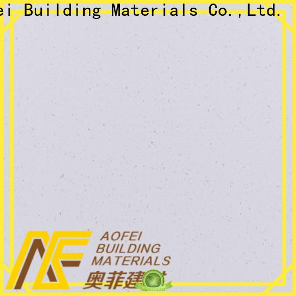 AOFEI Best pure white quartzite suppliers for kitchen
