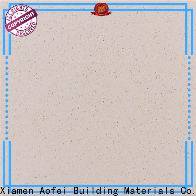 AOFEI ds506 bright white quartz factory for kitchen