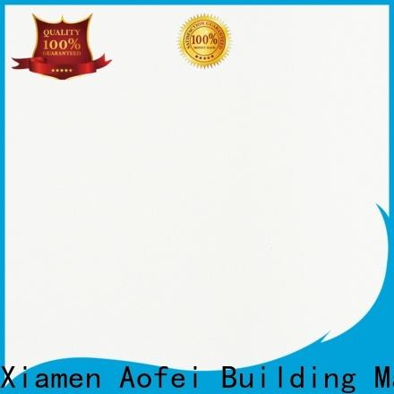 AOFEI Wholesale bright white quartz countertops manufacturers for cabinets
