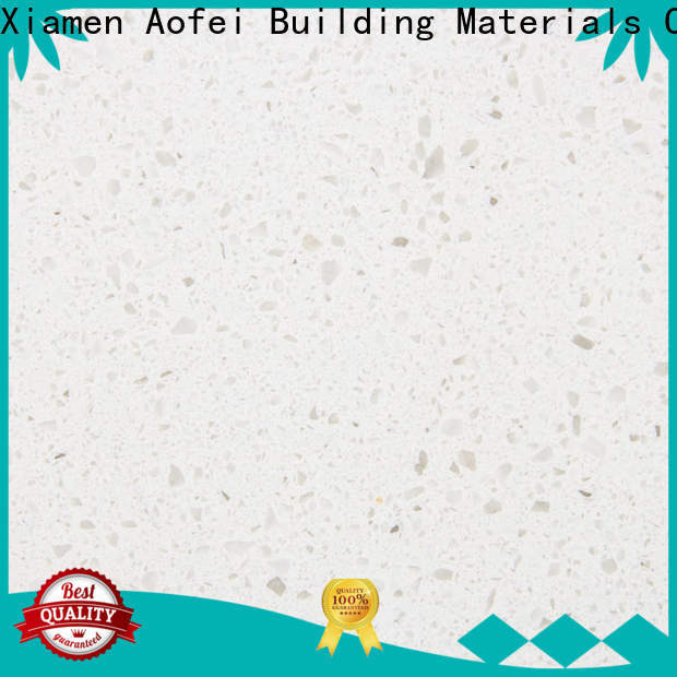 Custom stardust white quartz tiles fpb1273 for business for outdoor kitchen