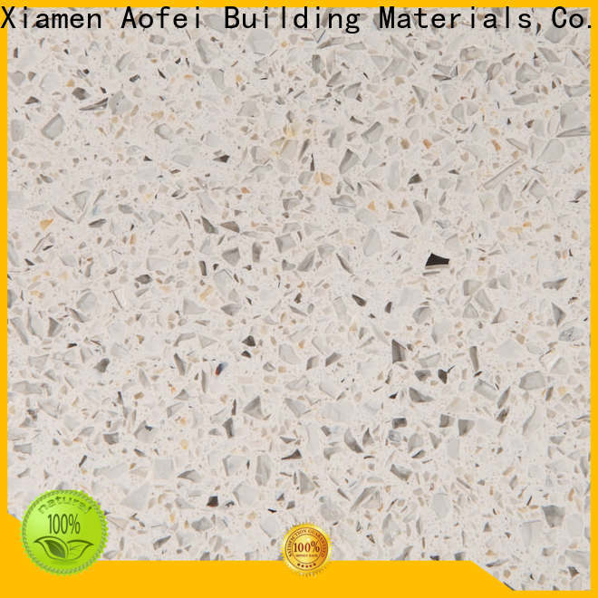 AOFEI pib2379 black quartz floor tiles suppliers for kitchen