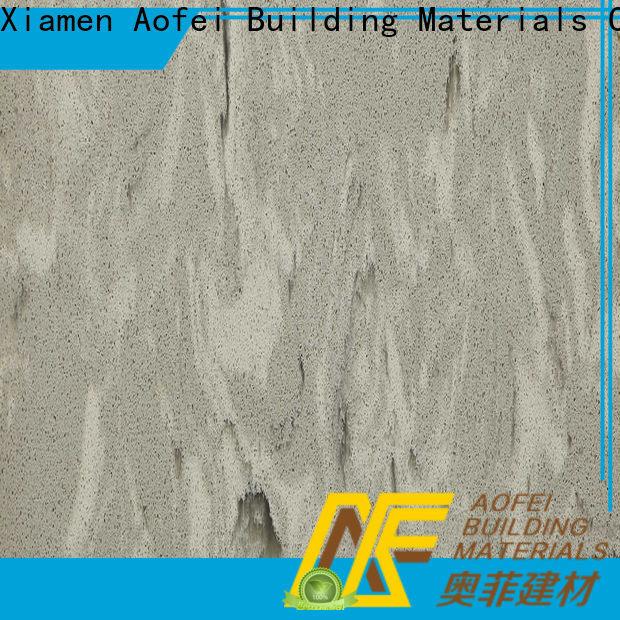 AOFEI wg034 grey sparkle quartz company for outdoor kitchen
