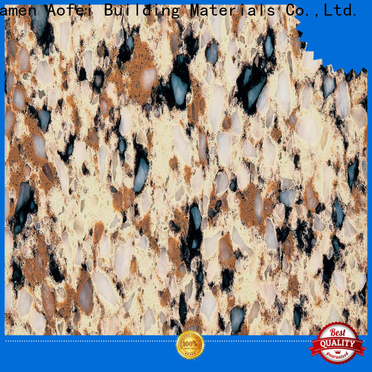 Top quartz countertops solid colors suppliers for cabinets