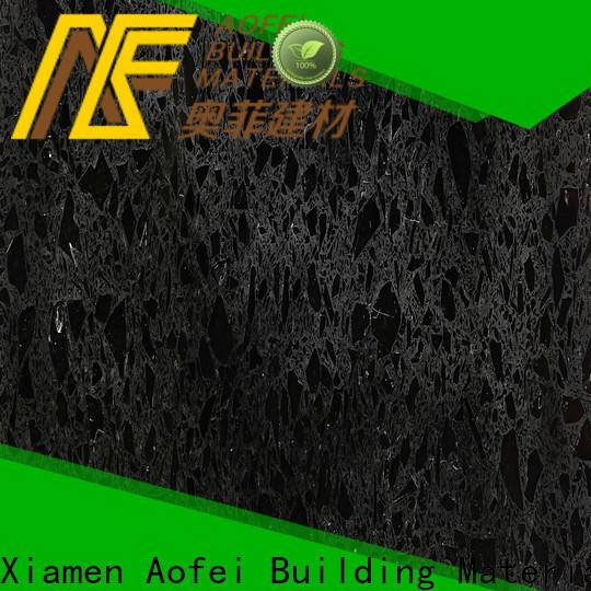 AOFEI High-quality morion black quartz company for cabinets