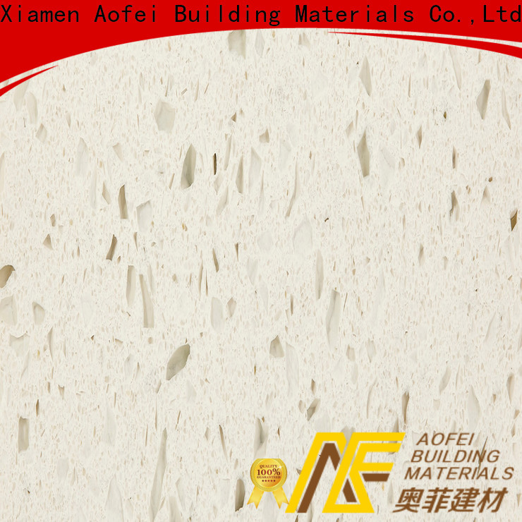 AOFEI xpa1198 white quartz solid surface suppliers for flooring