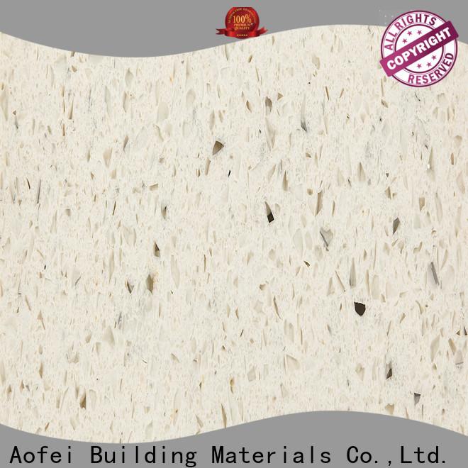 AOFEI Best best quartz countertops colors factory for outdoor kitchen