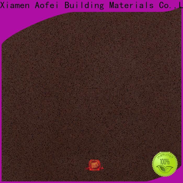 AOFEI Latest brown quartz tiles manufacturers for garden