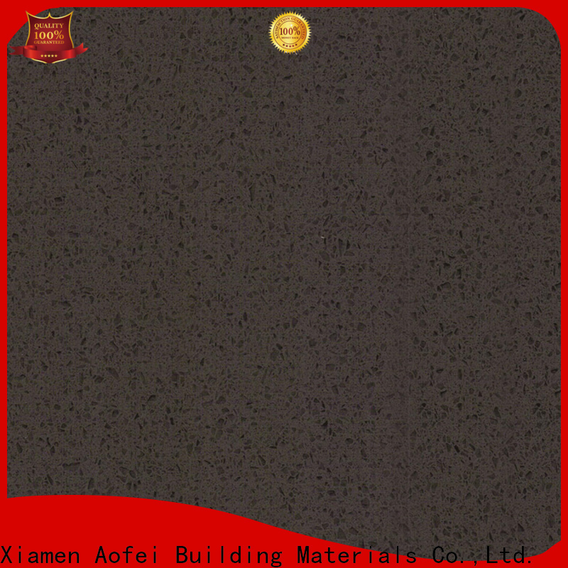 New black quartz tiles jet manufacturers for outdoor kitchen